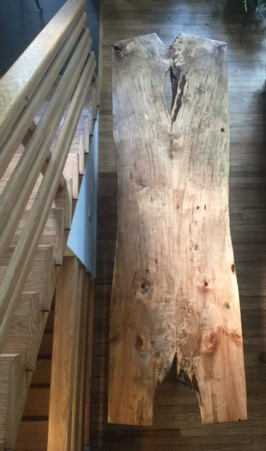 3 Leg Ambrosia Maple Table by No Walls Studio