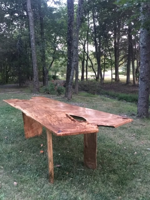 3 Leg Ambrosia Maple Table by No Walls Studio