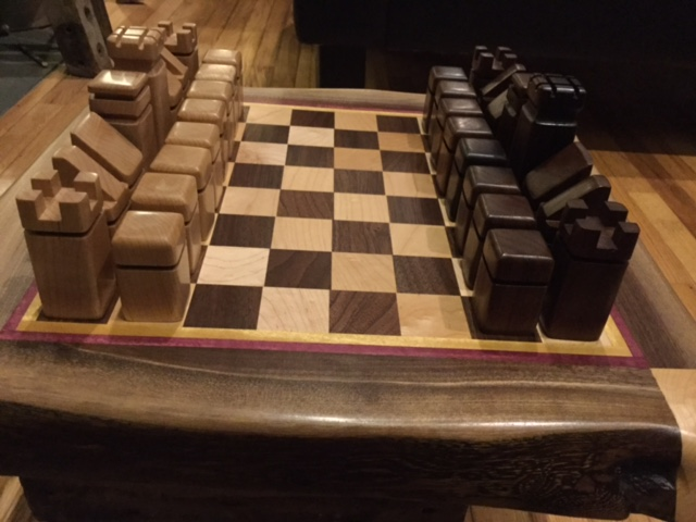 No Walls Studio Chess Set with Pieces