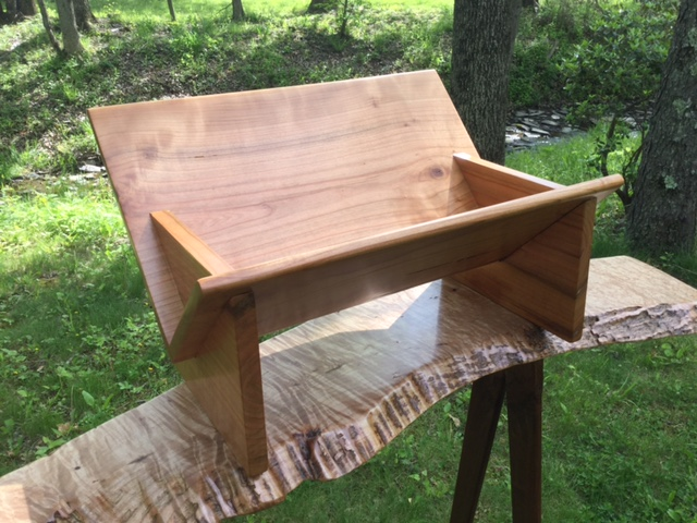 Cherry Book Stand - Larry Ricci
